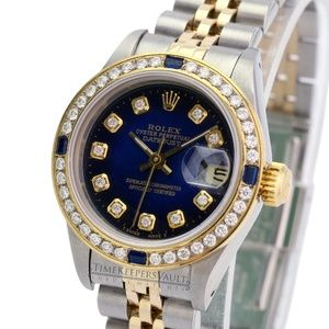 Rolex Lady Datejust Diamond Dial Diamond Bezel 26m